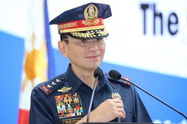 Incoming PNP chief, Lt. Gen. Guillermo Eleazar