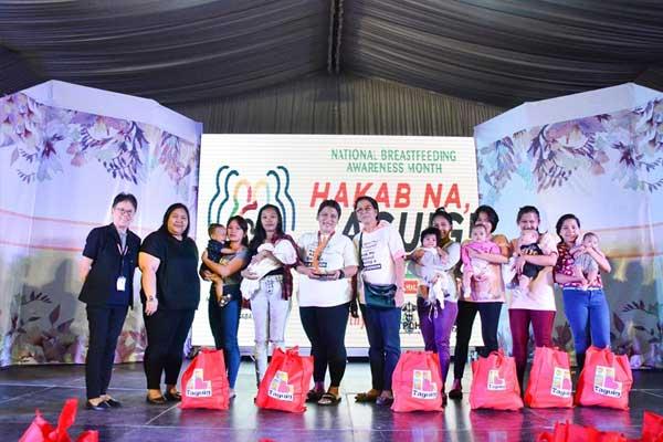 Taguig first Breastfeeding Olympics