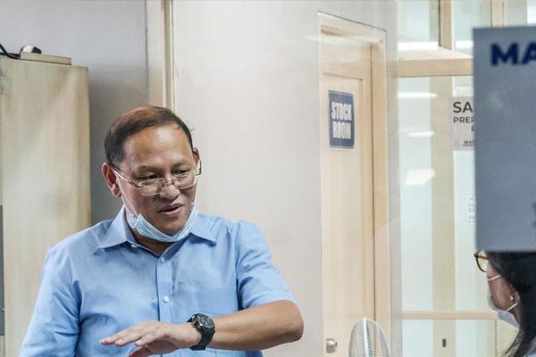 Marikina city Mayor Marcelino Marcy Teodoro / Marikina PIO