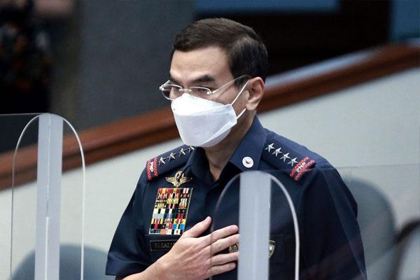 Philippine National Police (PNP) chief, Gen. Guillermo Eleazar