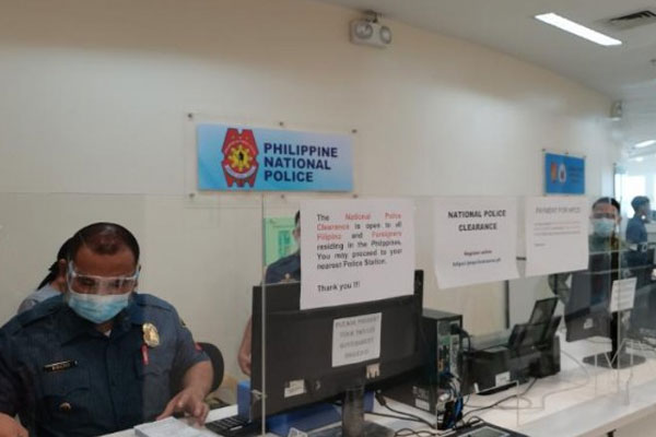 The Philippine National Police's Civil Security Group extension office at the SM Mall of Asia / PNA
