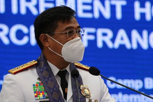 JTF Covid Shield commander, Lt. Gen. Joselito Vera Cruz