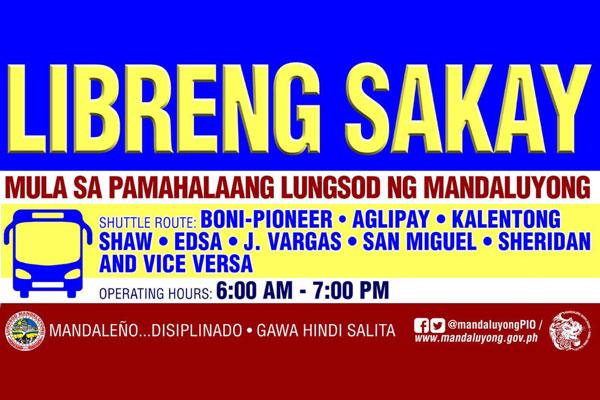 Photo Courtesy of Mandaluyong PIO