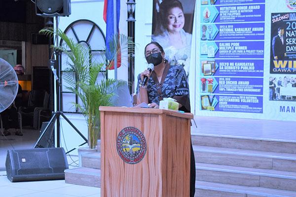 Mandaluyong City Mayor Menchie Abalos