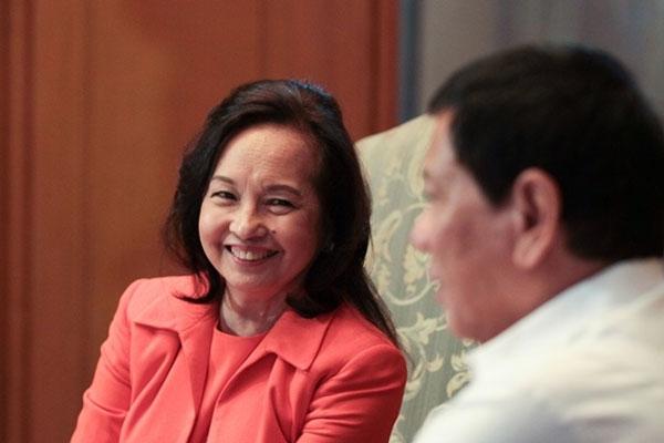 Former President Gloria Macapagal-Arroyo with President Rodrigo Duterte / PCOO