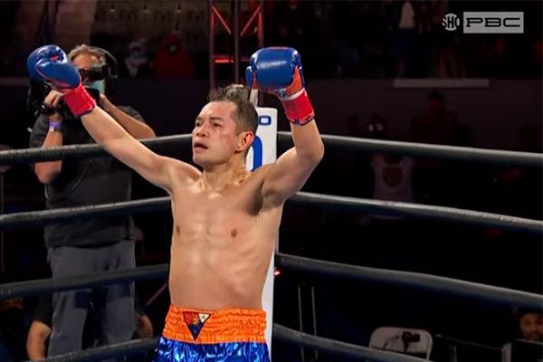 WBC bantamweight champion Nonito Donaire (screengrab)