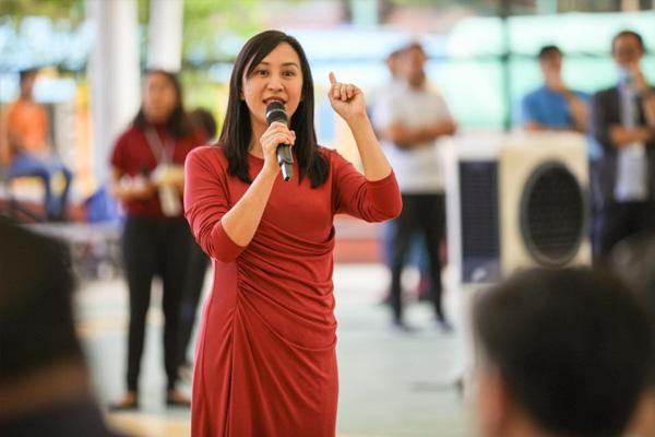 Quezon City mayor Joy Belmonte