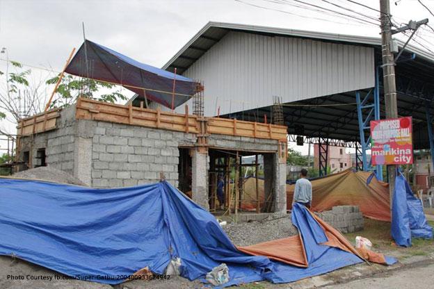 On-going project of Marikina City inAteneo Ville