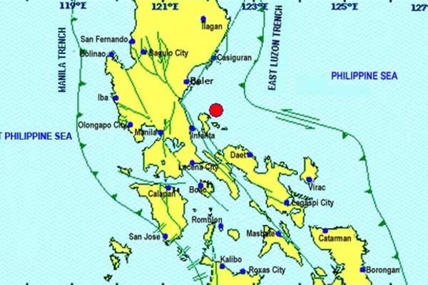 Magnitude 5.5 earthquake