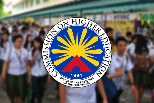 Commission on Higher Education (CHED) / Rainier Eubra