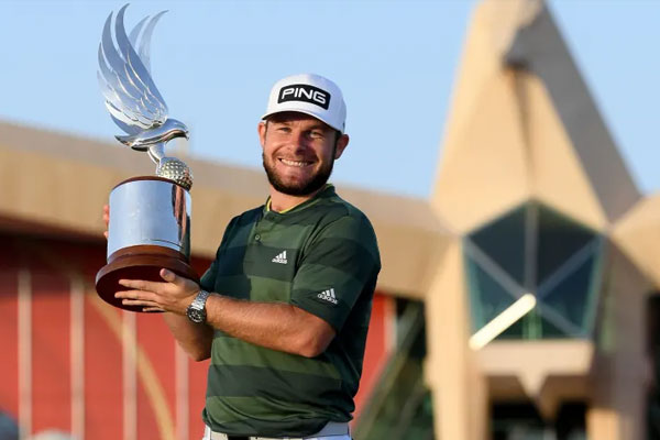 Tyrrell Hatton recorded a 6-under 66 in the final round. (Ross Kinnaird/Getty Images)