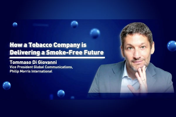 Tommaso Di Giovanni, vice president for global communications at PMI, made the statement during the 27th National Public Relations Congress held virtually by the Public Relations Society of the Philippines (PRSP).  Di Giovanni spoke about how PMI is delivering a smoke-free future.