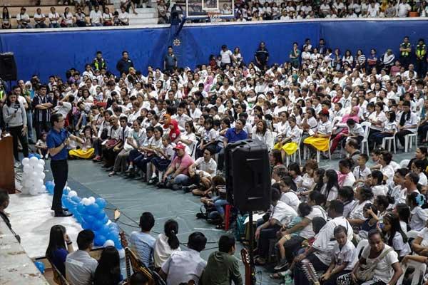 Manila Mayor Francisco %u201CIsko Moreno%u201D Moreno State of the Children Address