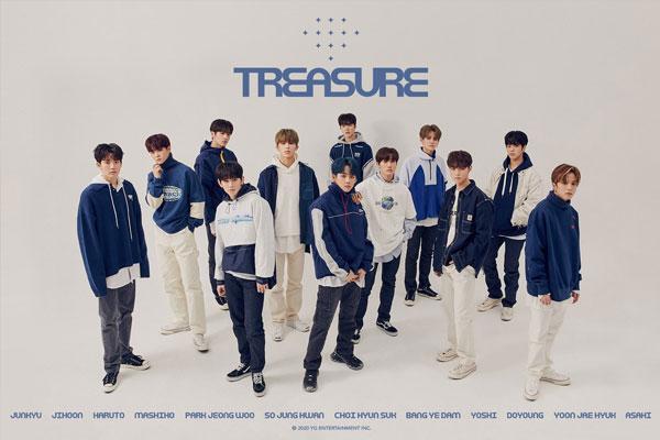 K-pop boy band Treasure / Photo Courtesy of Soompi.com