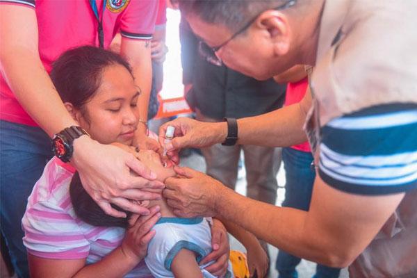 Malabon polio vaccination
