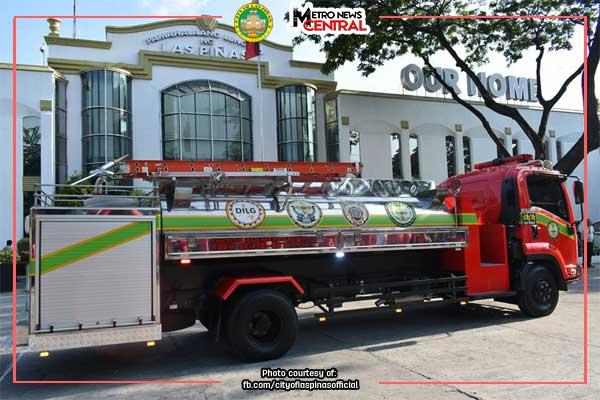 Las Piñas marks Fire Prevention Month