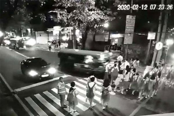 Makati jeepney accident