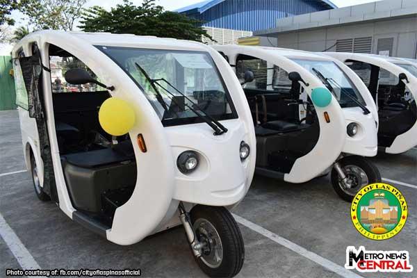 Turn-over of 100 E-Trikes to Las Piñas City