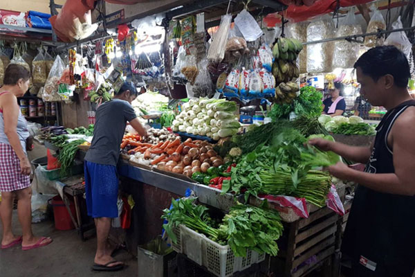 QC market vegetable stand