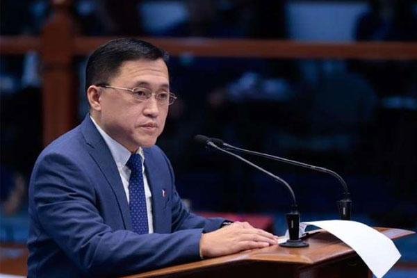 Senate Committee on Health and Demography Chair Christopher Lawrence Bong Go