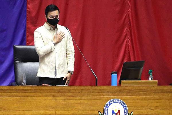 New House Speaker Lord Allan Velasco / AP
