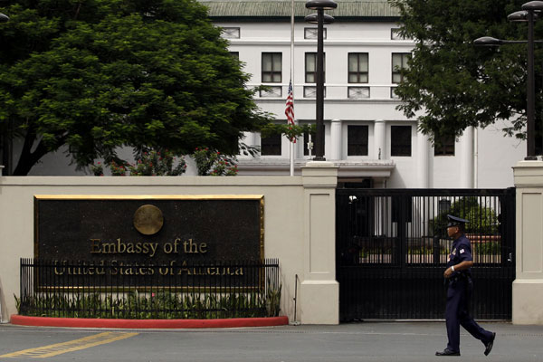 US Embassy in Manila / Photo Courtesy of Inquirer