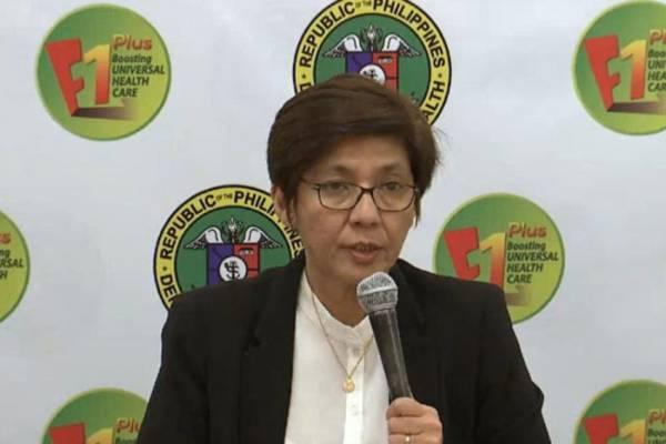DOH Undersecretary Maria Rosario Vergeire