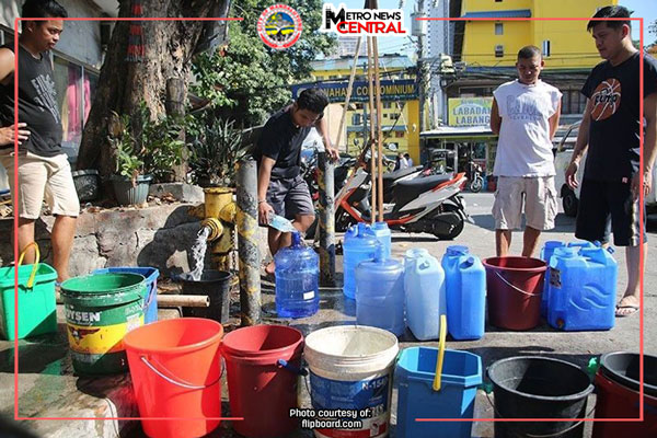Mandaluyong to declare state of calamity due to water woes