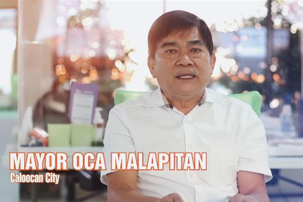 Mayor Oscar Oca Malapitan