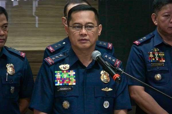 PNP-OIC Lt. Gen. Gamboa