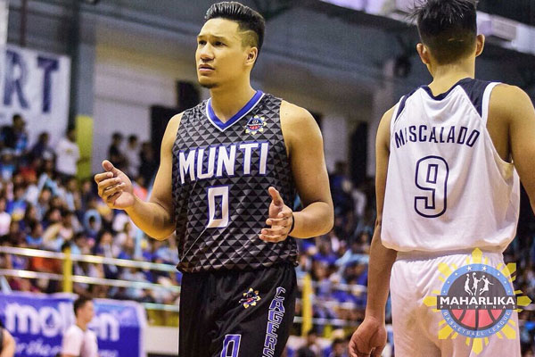 Dave Moralde Muntinlupa Cagers / MPBL