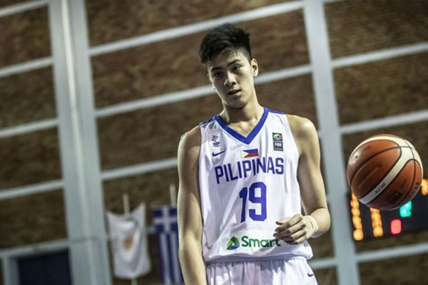 Kai Sotto / Photo Courtesy of FIBA / Rainier Eubra