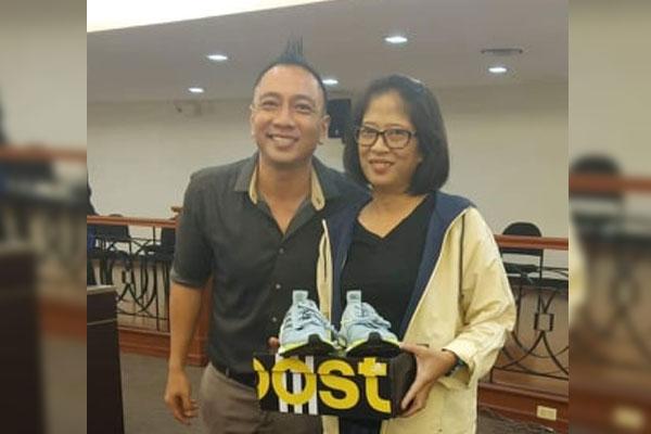 Pasig City Vice Mayor Iyo Bernardo