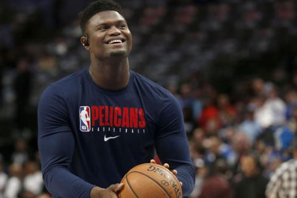 Pelicans rookie Zion Williamson / Photo Courtesy of wralsportsfan