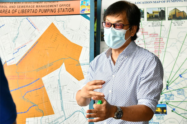 Metropolitan Manila Development Authority chairman Benhur Abalos / MMDA