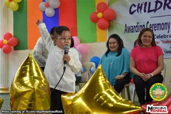 Las Piñas awards exemplary children of 2018