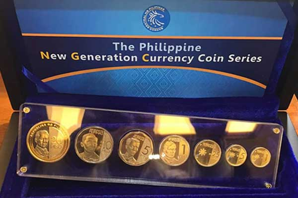 The new %u20B120 coin and the 'enhanced' %u20B15 coin / Deo Mariano Enalpe