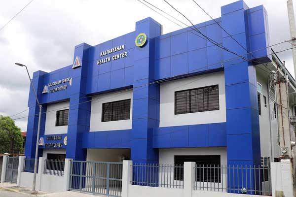 DPWH newly completed building