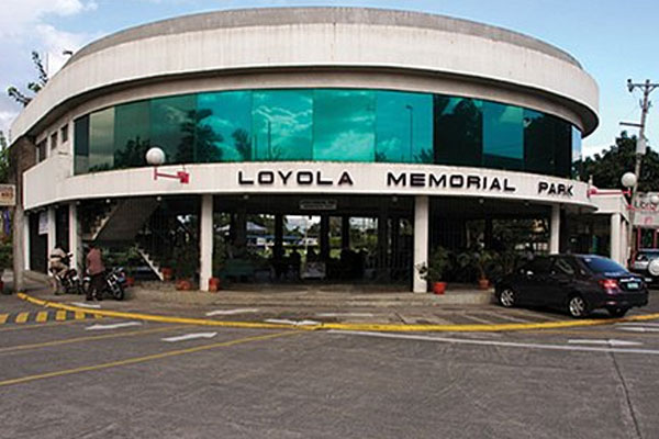 Loyola Memorial Park in Marikina City
