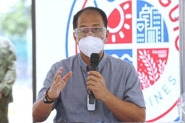 National Policy Against Covid-19 chief implementer and vaccine czar, Sec. Carlito Galvez Jr.