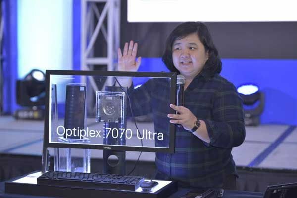Michelle Juliano, Field Marketing Manager- Client Solutions Group, Dell Technologies Philippines talks about the specs of the new Dell OptiPlex 7070 Ultra