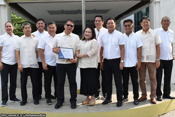 Las Pinas commended for outstanding real property tax collection