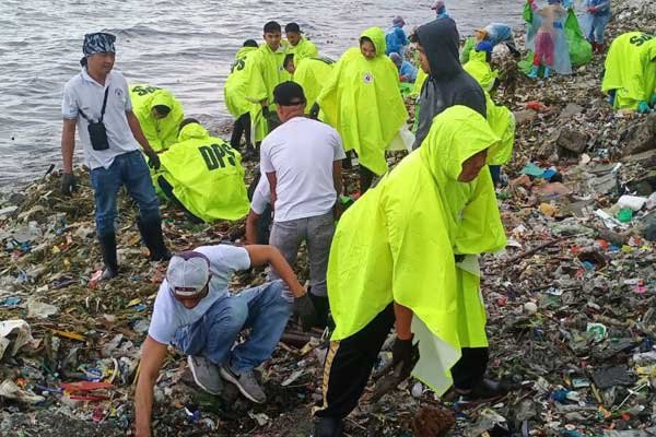 Baseco Beach cleanup