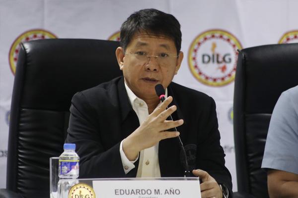 Interior Secretary Eduardo Año