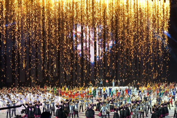 Opening ceremonies of 30th Southeast Asian Games