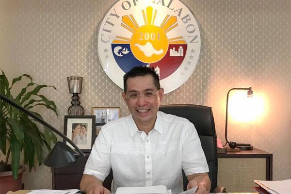 Malabon Mayor Lenlen Oreta