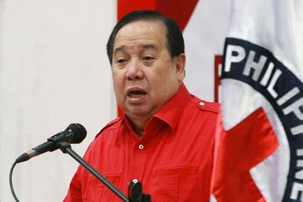 PRC chairman Senator Richard Gordon