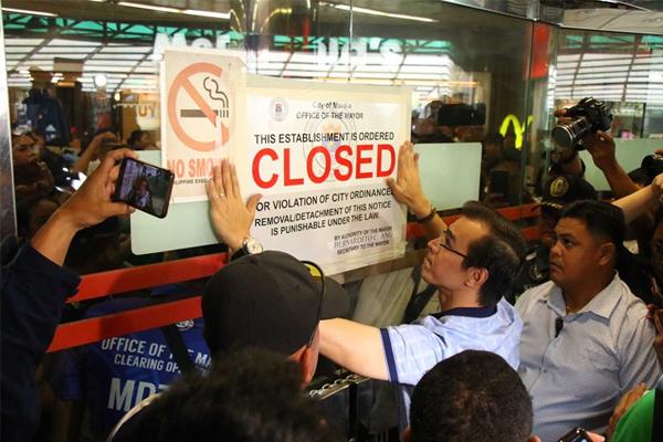 Closure of Isetann