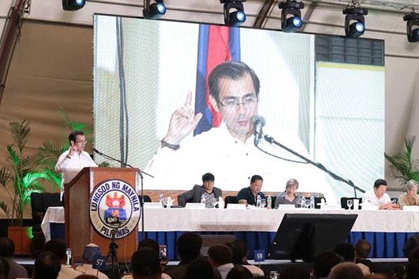 Manila Mayor Francisco %u201DIsko Moreno%u201D Domagoso / Manila PIO