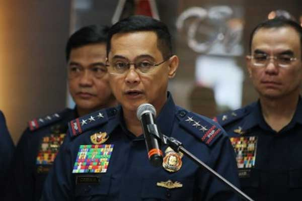 PNP chief Police General Archie Francisco